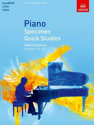 Quick Studies - Sheet Music - di-arezzo.com