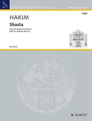 Naji Hakim - Shasta - Partition - di-arezzo.fr