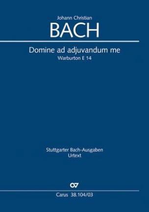 Domine ad adjuvandum me. - Johann Christian Bach - laflutedepan.com