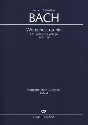 Cantate 166 Wo gehest du hin - Jean-Sébastien Bach - laflutedepan.com