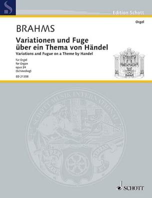 Variations et fugue sur un thème de Haëndel op. 24 BRAHMS laflutedepan