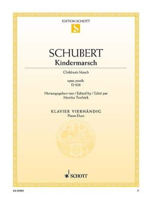 SCHUBERT - kindermarsch - 楽譜 - di-arezzo.jp