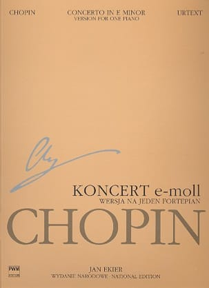 CHOPIN - Piano Concerto No. 1 in E minor op. 11. Soloist part - Sheet Music - di-arezzo.co.uk