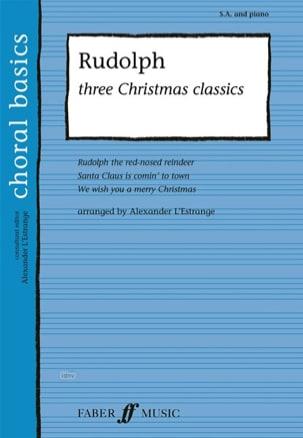 - Rudolph, three christmas classics - Partition - di-arezzo.fr