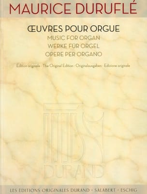 Maurice Duruflé - Works for organ - Sheet Music - di-arezzo.co.uk