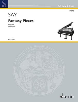 Fantasy Pieces Fazil Say Partition Piano - laflutedepan
