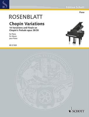 Chopin Variations - Alexander Rosenblatt - laflutedepan.com