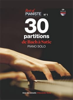 BEST OF PIANISTE N° 1 - 30 Scores of BACH from SATIE - Sheet Music - di-arezzo.com