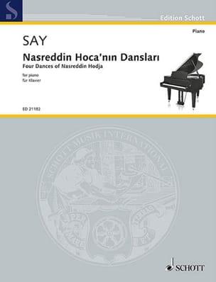 Fazil Say - Nasreddin Hoca'nin danslari - Partition - di-arezzo.fr