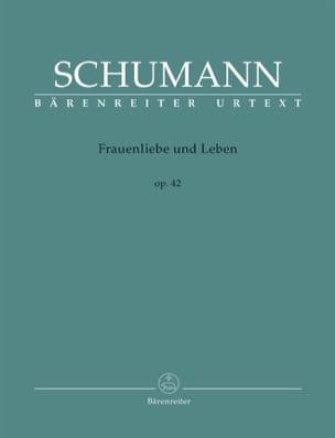 SCHUMANN - Frauenliebe Und Leben Opus 42 - Partition - di-arezzo.fr