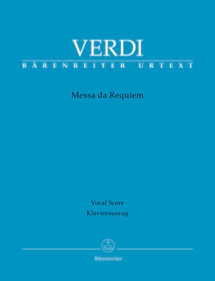 Messa da Requiem VERDI Partition Chœur - laflutedepan