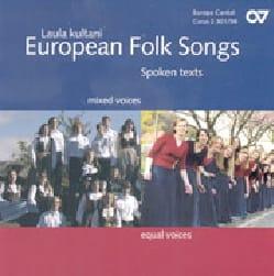 - European Folk Songs CD - Partition - di-arezzo.fr