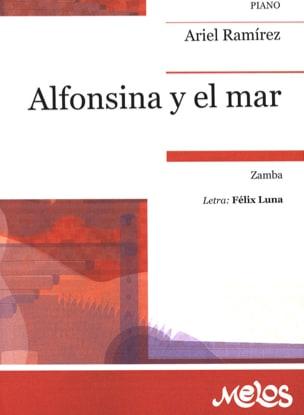 Ariel Ramirez - Alfonsina y el Mar - Partition - di-arezzo.fr