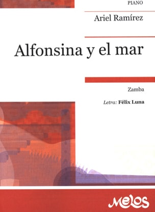 Ariel Ramirez - Alfonsina Y El Mar - Sheet Music - di-arezzo.com