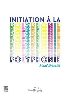 Paul Huvelle - Initiation à la polyphonie - Partition - di-arezzo.fr