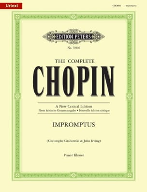 CHOPIN - Impromptus. Nouvelle Edition - Partition - di-arezzo.fr