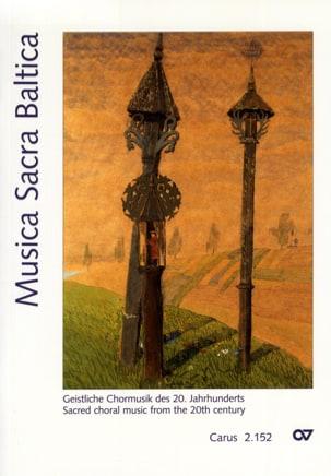 Musica Sacra Baltica - Partition - di-arezzo.com