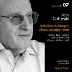 Gottwald Clytus - Choral arrangements - CD - Partition - di-arezzo.fr