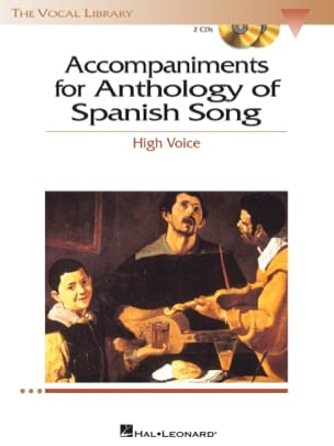 - Anthology of Spanish songs Accompaniments. Voix haute - Partition - di-arezzo.fr
