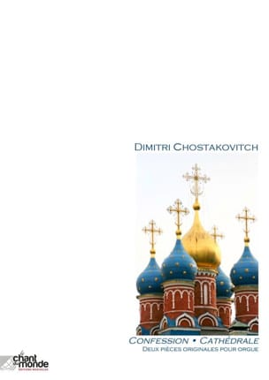 CHOSTAKOVITCH - 2 pièces originales pour orgue - Partition - di-arezzo.fr