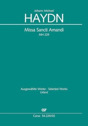 Joseph Michael Haydn - Missa Sancti Amandi MH 229 - Partition - di-arezzo.fr