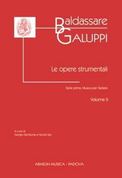 Le Opere Strumentali. Volume 5 Baldassare Galuppi laflutedepan