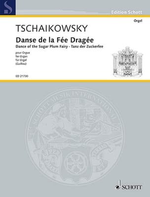 TCHAIKOWSKY - Dance of the candied fairy - Sheet Music - di-arezzo.co.uk