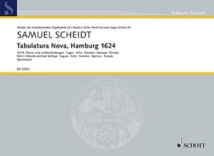 Tabulatura Nova, Hamburg 1624 volume 2 Samuel Scheidt laflutedepan