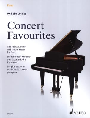 Concert Favourites Partition Piano - laflutedepan