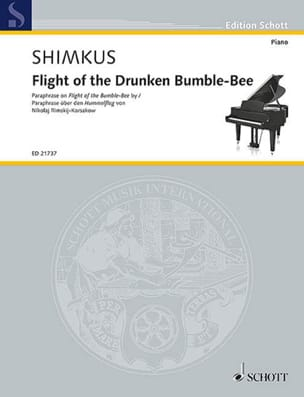 Flight of the drunken Bumle-Bee - Vestard Shimkus - laflutedepan.com