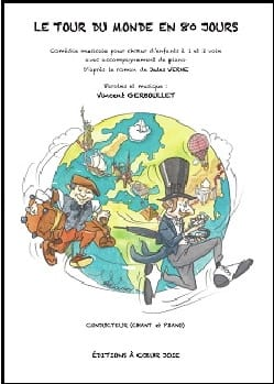 Vincent Gerboullet - Around the world in 80 days - Sheet Music - di-arezzo.co.uk