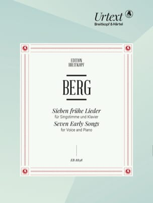 Alban Berg - 7 Frühe lieder High voice - Sheet Music - di-arezzo.co.uk