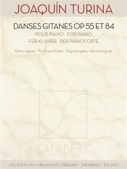 Joachim Turina - Gypsy dances Opus 55 and Opus 84 - Sheet Music - di-arezzo.com