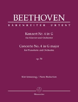 BEETHOVEN - Piano Concerto No. 4 Op. 58 In G major - Sheet Music - di-arezzo.co.uk