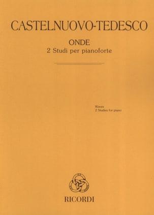 Mario Castelnuovo-Tedesco - Onde - Partition - di-arezzo.fr