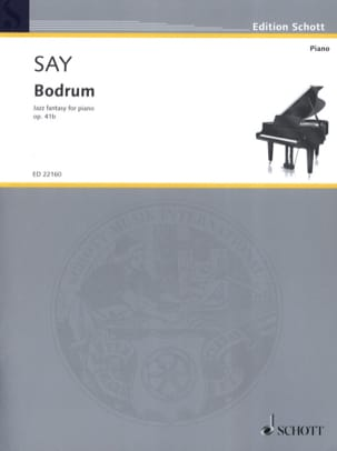 Bodrum op. 41b Fazil Say Partition Piano - laflutedepan