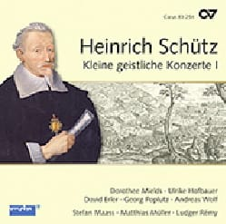 Heinrich Schütz - Kleine geistliche Konzert Volume 1 - Partition - di-arezzo.fr