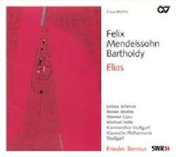 Elias op. 70. 2CD - MENDELSSOHN - Partition - Chœur - laflutedepan.com