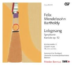 Félix MENDELSSOHN - Lobgesang op. 52 - Partition - di-arezzo.fr