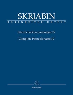 Alexander Scriabine - Complete sonatas. Volume 4 - Sheet Music - di-arezzo.com