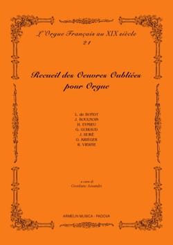 - Collection of forgotten works for organ. Volume 1 - Sheet Music - di-arezzo.com