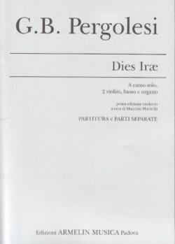 Giovanni Battista Pergolese - Dies Irae - Partition - di-arezzo.fr