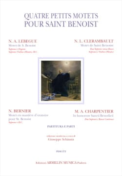 - 4 little motets for Saint Benoist - Sheet Music - di-arezzo.com