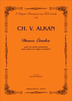 Charles Henri Valentin Aîné Alkan - 12 études - Partition - di-arezzo.fr