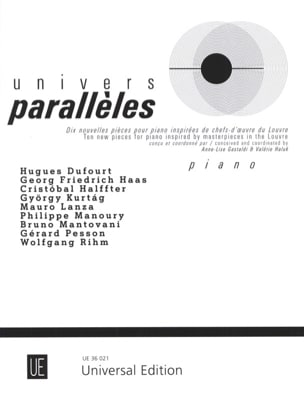 Univers parallèles Partition Piano - laflutedepan