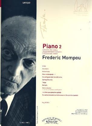 Federico Mompou - Piano. Volume 2 - Partition - di-arezzo.fr