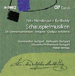 Schauspielmusiken (3 CD) - Félix MENDELSSOHN - laflutedepan.com