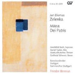 Jan Dismas Zelenka - Missa Dei Patris Zwv 19 - Partition - di-arezzo.fr