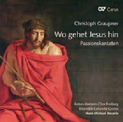 Wo gehet Jesus hin - Christoph Graupner - Partition - laflutedepan.com