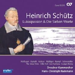 Heinrich Schütz - Lukaspassion & die Sieben Worte - Partition - di-arezzo.fr